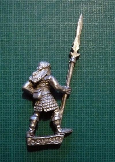 Citadel Elf Warrior Gwydnal (back)