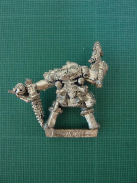 Death Squad Marine Back