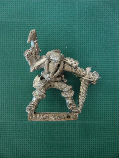 Death Squad Marine Front