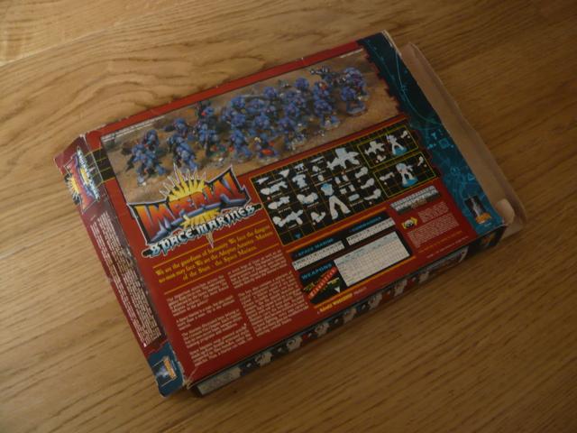 Plasic Space Marines Box Front